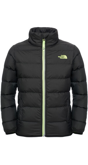 The North Face Andes Jacket Boys TNF Black/Safety Green